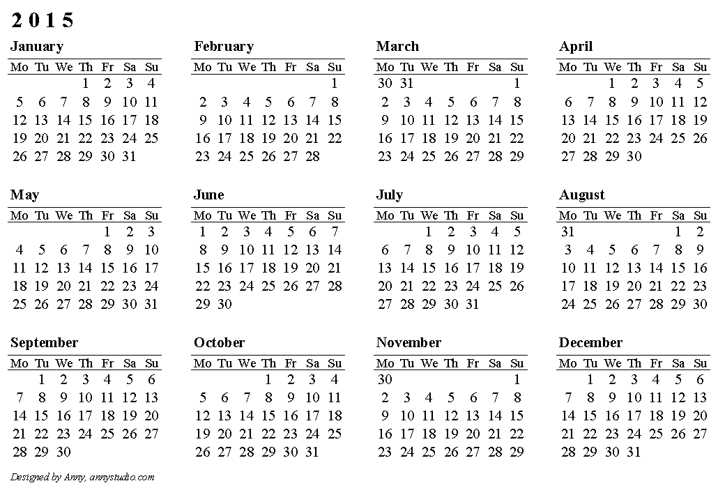 2015 calendars by month koni polycode co