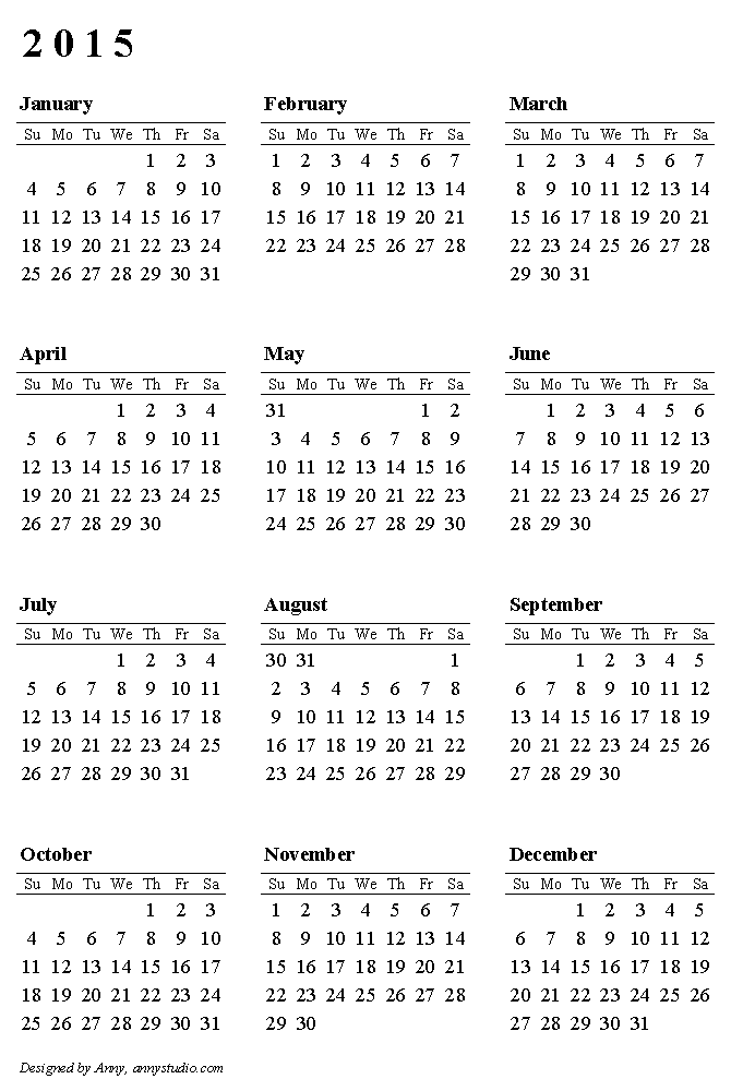 2015 printable calendar new calendar template site for Australian calendar template 2015