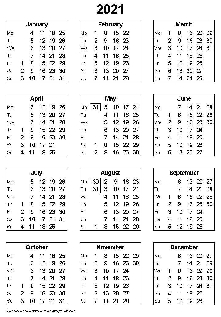 image relating to 3 Year Calendar Printable titled Absolutely free Printable Calendars and Planners 2019, 2020, 2021, 2022