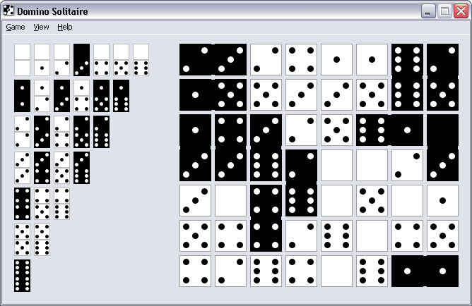 Domino Solitaire Screen shot